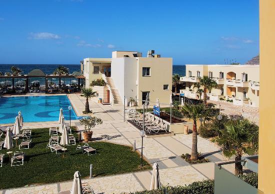 Minoa Palace Resort & Spa: piscine de la plage