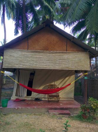 Island Vinnies Tropical Beach Cabana-billede