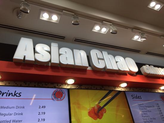 Asian Chao: Insegna