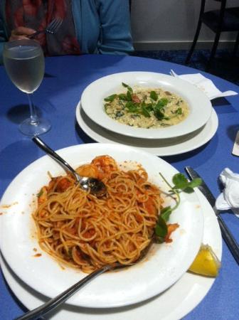 Muswellbrook, Australia: Spag Maranara and veg Rissito