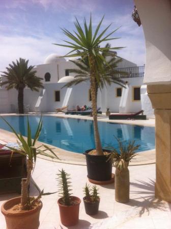 Maison Leila : piscine
