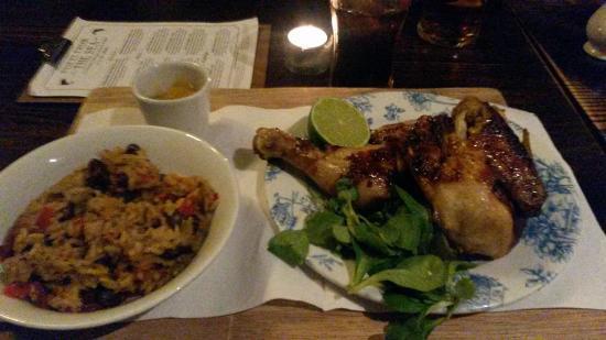 Baginton, UK: Caribean Style Chicken x
