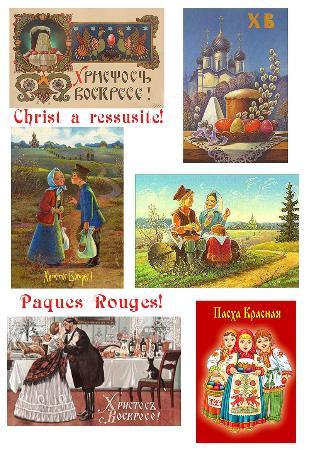 Fleur de sel : fête de Pâques russes