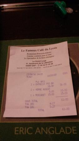 Gap, Francia: Facture du Midi