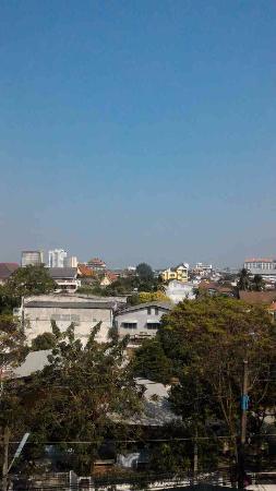 Chiangmai Smith Residence: バルコニーからの眺め