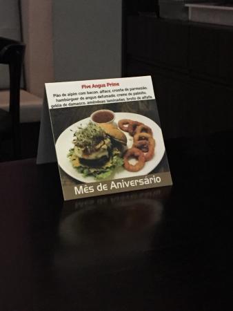 46fdaa4484ef Burger Angus (mês Maio/2016) - Foto de Five Bar & Food ...