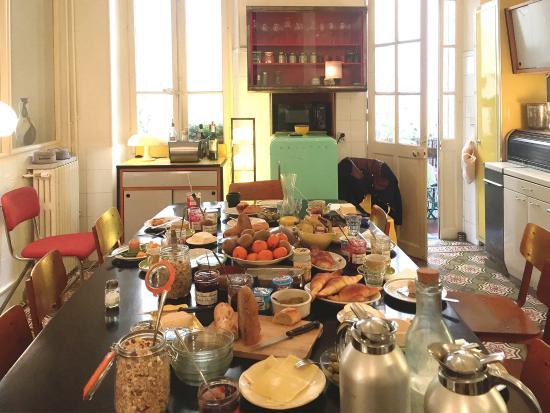 La Pension Edelweiss: Frühstück