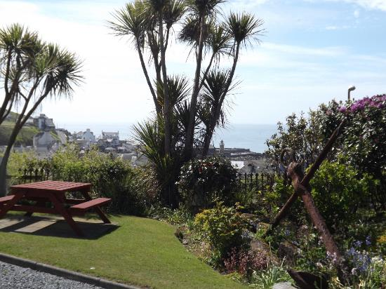 Braefield House has its own beautiful gardens with spectacular views over the Irish Sea