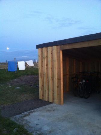 Benbecula Island, UK: Bike Shed