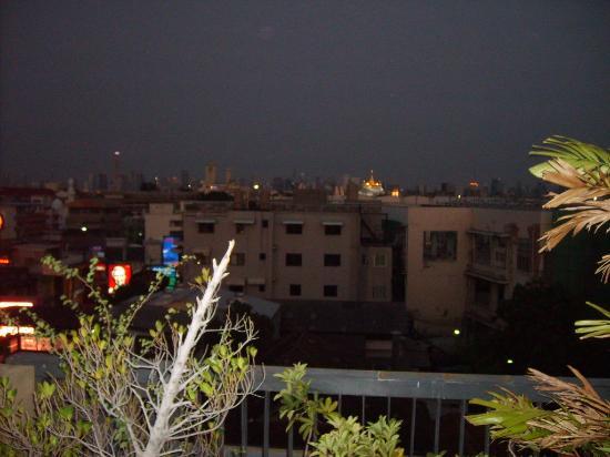 Khaosan Park Resort: Blick von der Dachterasse