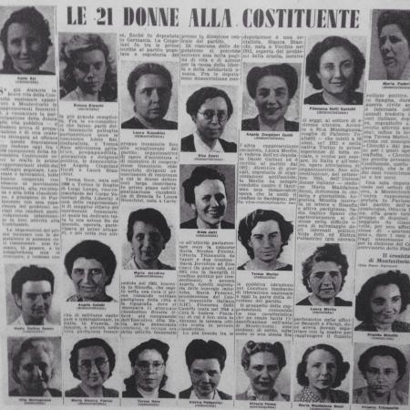 Gattatico, İtalya: I nomi dei fratelli Cervi in una bandiera donata al padre. Una citazione dalla stanza del plasti