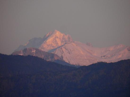 Bogis-Bossey, Switzerland: Mount Blanc seen from Chateau de Bossey