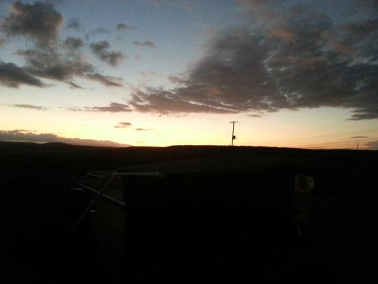 Addo, Sudáfrica: Sonnenuntergang