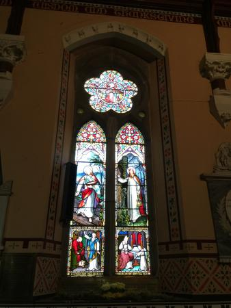 St. Mary's Church of Ireland : Inside Glass