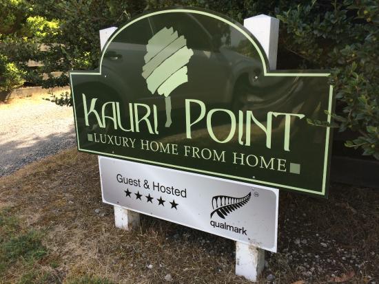 Kauri Point: Leider haben wir es versäumt vom Zimmer Photos zu machen.