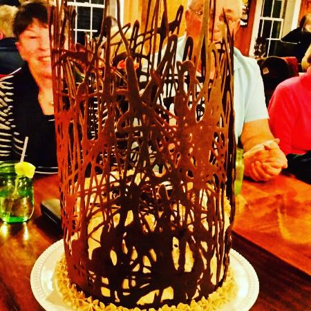 Blue Hill, ME: Chocolate birthday cake