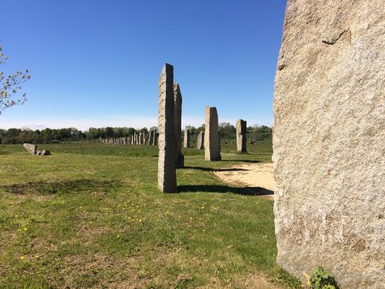 Mouzeil, Frankrig: Parc Monumentale
