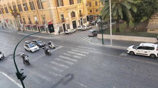Monti First: Via Nazionale from the window
