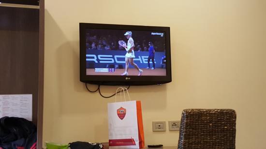 Hotel Consulta: the TV in the room