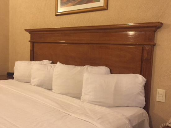 Gran Hotel Plaza Imperial : Bed was clean and comfortable.