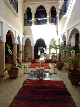 Riad Basim : Innenhof