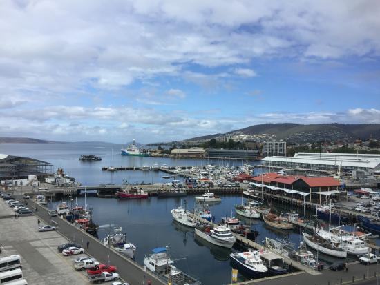Grand Chancellor Hotel Hobart: Room with a view!