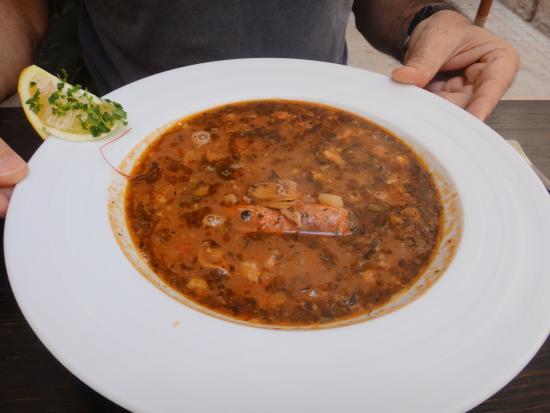 Birgu (Vittoriosa), Malta: Soupe de poissons