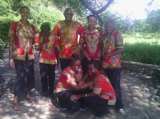 Kia Lodge – Kilimanjaro Airport: Kia lodge staff with smile