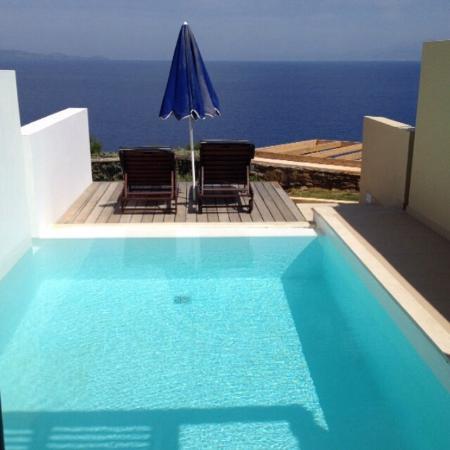 Accueil VIP. Chambre supérieure avec piscine privée. Une des ...