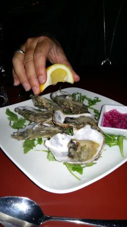 Thorpe le Soken, UK: Oysters delicious