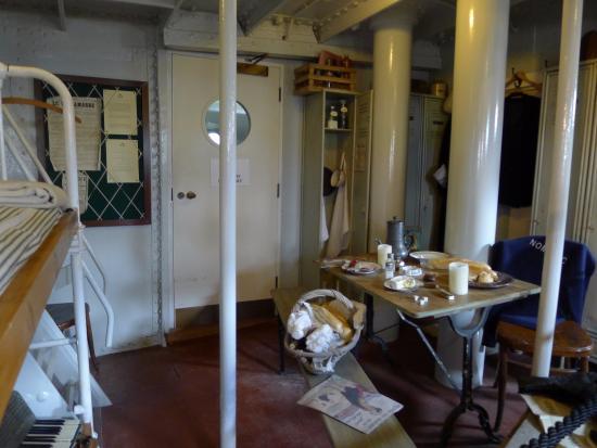 Cabina all 39 interno del nomadic foto di titanic belfast for All interno di una cabina