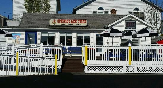 The Best Ice Cream Place On Island Review Of Custard S Last Stand Ventnor City Nj Tripadvisor