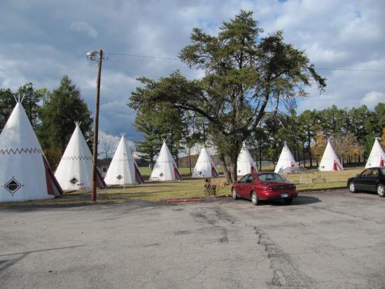 Wigwam Village #2 Cave City, Kentucky - Atlas Obscura