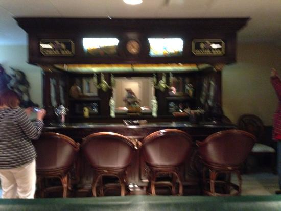 Trinity, NC: Real Irish bar shipped from Ireland and reconstructed at Linbrook Hall