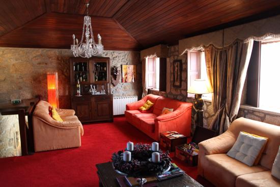 Cossourado, Portugal: salle de détente au 1r étage