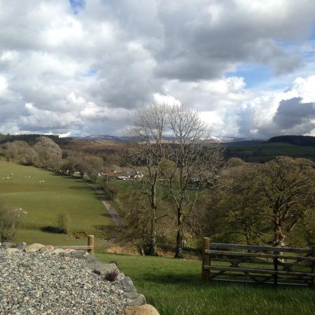 Bala, UK: View from the front door