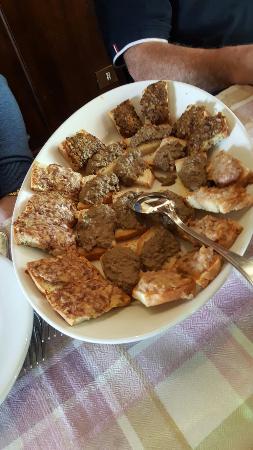 Subbiano, Italia: Antipasto di crostini