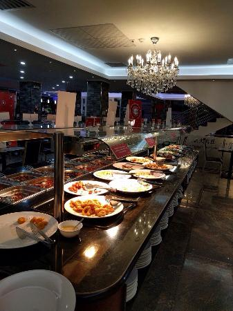 Restaurant Buffet Asiatic
