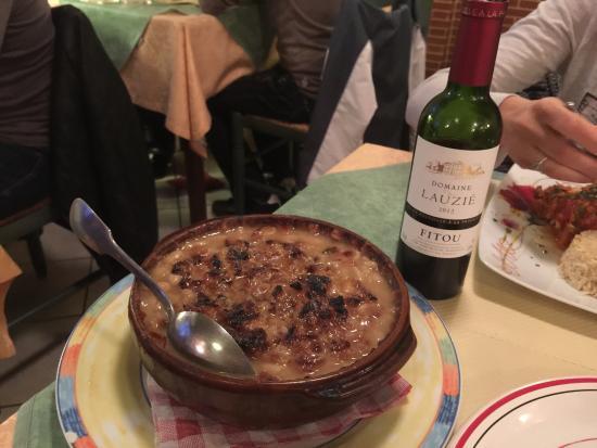 Castelnaudary, Frankrike: Restaurant Au Petit Gazouillis