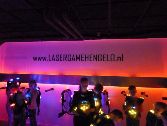Hengelo, The Netherlands: Lasergame