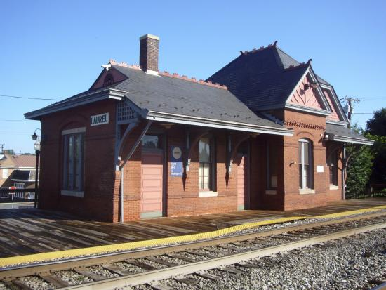 Laurel Train Station