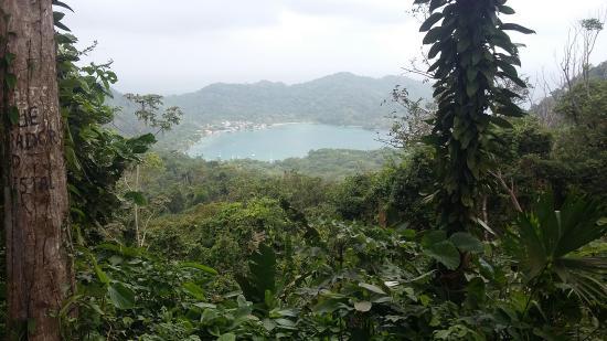 Capurgana, Colômbia: vista durante el desplazamiento