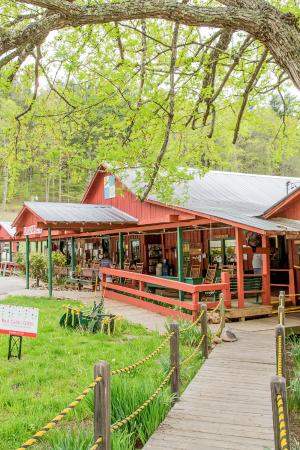 Shatley Springs Inn: Another view of the restaurant.