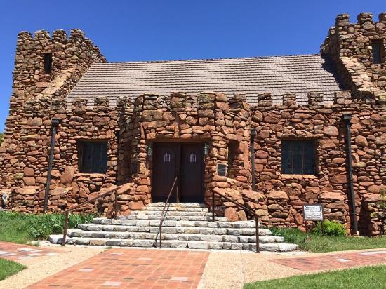 Lawton, OK: Front of Holy City chapel