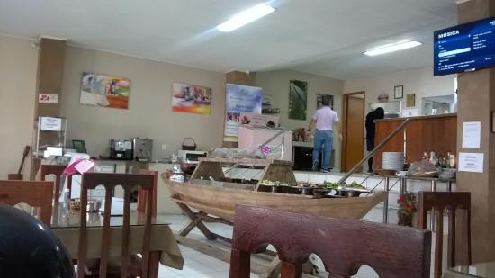 Casa da Pamonha: Canoa, bancada para os Re-chouds