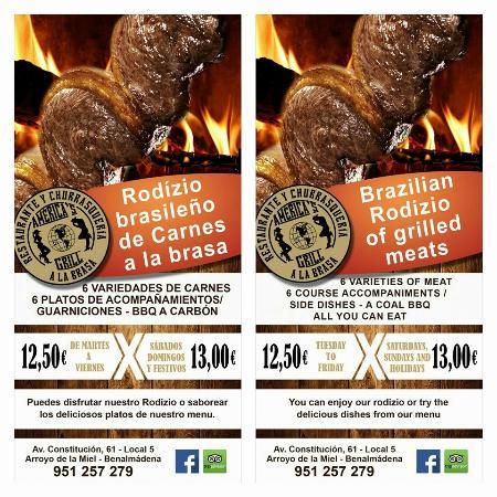 imagen America's Grill en Benalmádena