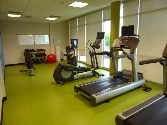 Ridley Park, Pensilvanya: Nice Fitness Room with Free Weights
