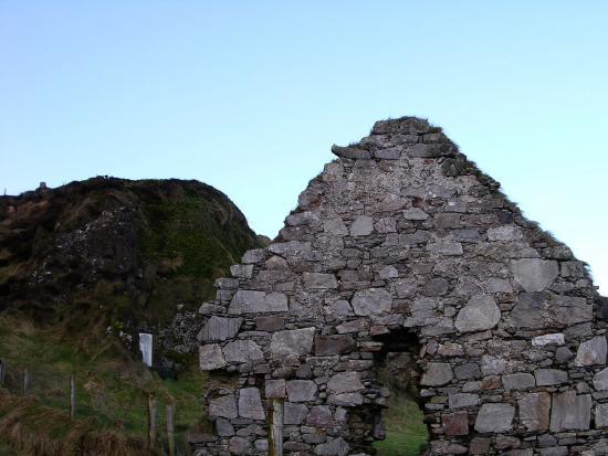 Malin Head, Irlandia: Church ruins