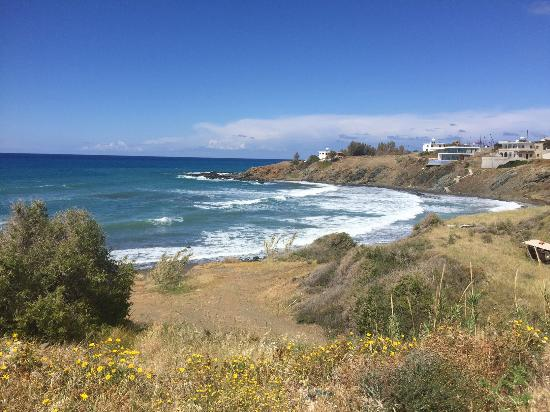 Pomos, Cyprus: Tpoulorotos beach area april 2016