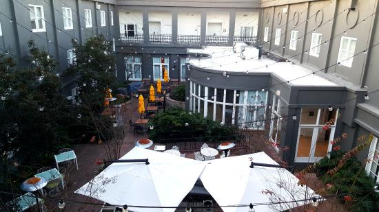 The Kimpton Brice Hotel Courtyard